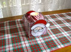 Handwoven Christmas Plaid Table Runner Christmas Coffee Table Scarf Red, White and Green Table Topper by hobbymakers on Etsy Christmas Runner, Christmas Coffee, Plaid Christmas, Christmas Colors, Christmas Holidays, Christmas Decorations, Handmade Home Decor, Home Decor Items, Green Table