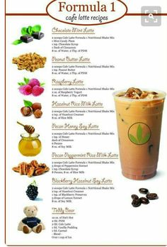 Herbalife: Formula 1 - Cafe Latte Recipes ///// From: This Girl Loves Her Shake Nutrition Club, Nutrition Shakes, Herbalife Nutrition, Healthy Shakes, Herbalife Plan, Formula 1 Herbalife, Herbalife Protein, Herbalife Sport, Herbalife Meal Plan