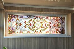 Leaded Glass, Stained Glass Windows, Tiffany Glass, Stained Glass Patterns, Glass Art, Water, Frame, Home Decor, Gripe Water