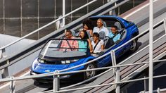 Enjoy a fun-filled family drive down the Test Track circuit at Test Track Presented by Chevrolet.