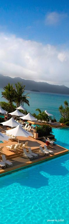 Where you don't just visit the world's most amazing place, you live it one amazing moment at a time ~ One & Only Hayman Island Resort, Great Barrier Reef, Queensland, Australia