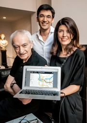 Back on the map! Vignelli returns with his famous subway diagram