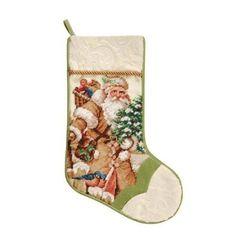 Needlepoint Christmas Stocking Collection by Brookstone, http://www.amazon.com/dp/B0052VZKHA/ref=cm_sw_r_pi_dp_g6q3qb0Z34M7F