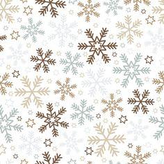 Fond de Noël avec des flocons de neige et étoiles