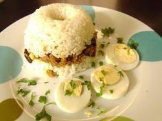 COMIDA PERUANA: Recetario de Cocina: RECETA DE ARROZ TAPADO COMIDA PERUANA