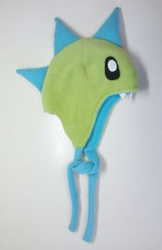 tutorial on how to make a dinosaur fleece hat....can adults wear these lol