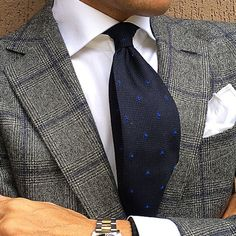 Suit and tie fixation - tieoftheday: Morning by Sharp Dressed Man, Well Dressed Men, Suit Fashion, Mens Fashion, Classic Men, Herren Style, Elegant Man, Men Formal, Suit And Tie