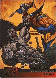 DC Versus Marvel / Marvel Versus DC (Base Set) 55-A by SkyBox