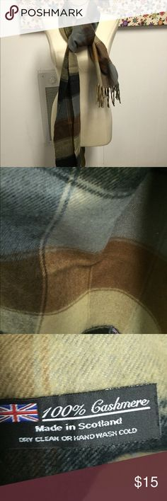 Cashmere Made in Scotland Scarf 100% cashmere. Made in Italy. unbranded Accessories Scarves & Wraps
