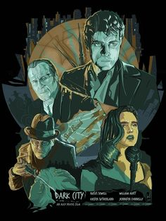 Dark City Poster  by Berkay Daglar
