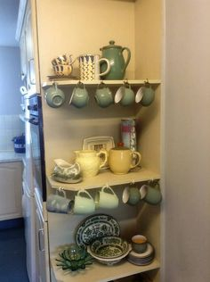 The kitchen is well equipped for breakfast lunch and supper dishes  and a dishwasher to deal with them all.