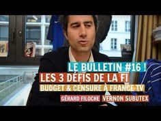 Le journal de BORIS VICTOR : MA FRANCE INSOUMISE - #BDR16 : BUDGET & CENSURE À ...