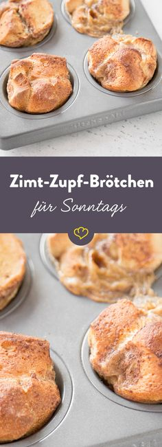 Dank fertigen Sonntagsbrötchen sind diese Zimt-Zupf-Brötchen in Windeseile geb… Thanks to the finished Sunday rolls these cinnamon pluck buns are baked in no time at all. And they taste easy and lightly like Swedish cinnamon buns. Breakfast And Brunch, Breakfast Recipes, Sunday Brunch, Sweet Recipes, Cake Recipes, Dessert Recipes, Dessert Blog, Mets, Sweet Bread