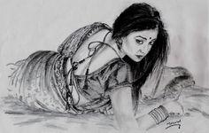 Shriya Saran (My New Sketch)