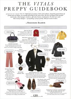 Preppy guidebook, to those who might need it.