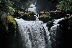 Falls Creek falls Washington. [OC][2544 x 1696]