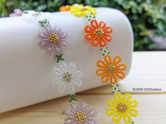 Butter Dish, Beaded Flowers, Beads, Ribbons, Bracelets, Buttons, Instagram, Necklaces, Stud Earrings