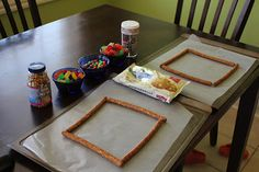 Play At Home Mom LLC: Edible Art Frames