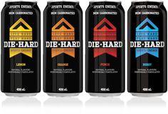 Brand Profile: Die Hard™ Sports Energy Drink #packaging
