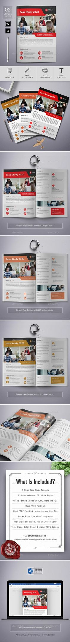 Case Study Word This Modern and Clean Caste Study Template will give you a sample structure for your case study. You can use this Case Study Template to showcase your company's successes and it will help you to gain new customers in the process. Case Study Template, Understanding Yourself, Brochure Template, Problem Solving, Content Marketing, Old Things, How Are You Feeling, Challenges, Templates