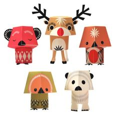 Paper Toys – Christmas Creature