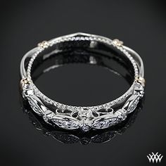 Verragio Scalloped Diamond Wedding Ring is from the Verragio Parisian Collection. * I would prefer if the ovals were solid gems instead of small ones placed side by side.
