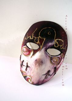 Made to Order Jack Of Blades Mask Fables Video by AtticRaiders. , via Etsy.
