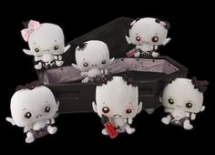 Vamplets with their little baby bottles of blood!