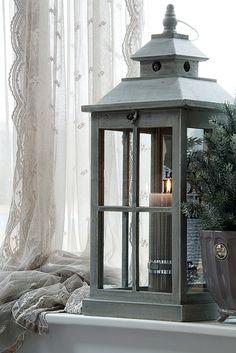 Lene Bjerre – AUTUMN 2013. OTILDE lantern and CHRISTA EMB. curtain.