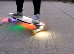 Impress your friends by adding some lights to your board.
