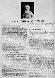 Marzo 26 de 1913 | Venustiano Carranza expide el Plan de Guadalupe por el que desconoce al gobierno de Victoriano Huerta. | #Memoria #Politica de #Mexico | http://memoriapoliticademexico.org/Efemerides/3/26031913.html