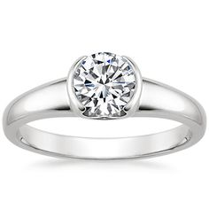 Modern & Contemporary Engagement Rings   Brilliant Earth
