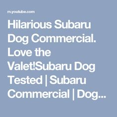 2018 subaru dog commercial. beautiful commercial hilarious subaru dog commercial love the valet tested   commercial for 2018 subaru dog commercial