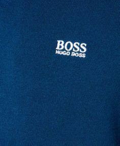 Boss Hugo Boss Men's V-Neck Sweater - Black 2XL