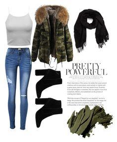 """💚"" by mariahhh17 on Polyvore featuring moda, MANGO, David & Young y Bobbi Brown Cosmetics"