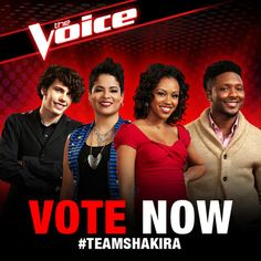 Vote now to keep your favorites from #TeamShakira in the competition! http://www.nbc.com/the-voice/vote