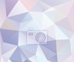 Fototapete abstrakter - dreieck - Abstraktion • PIXERS.de