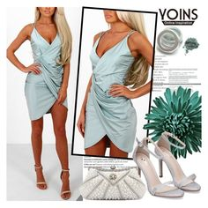 """""""YOINS"""" by gaby-mil ❤ liked on Polyvore featuring Balmain, yoins, yoinscollection and loveyoins"""