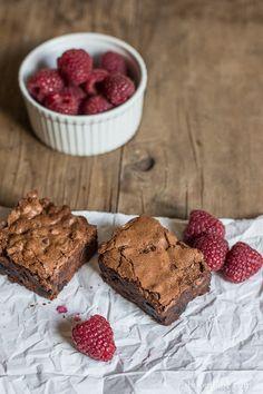 Fudgy Cherry Port Brownies