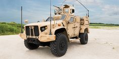 Oshkosh's L-ATV will be the Pentagon's next rugged truck.
