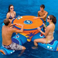 Para reunir com os amigos nesse verão! #mesapiscina #verão