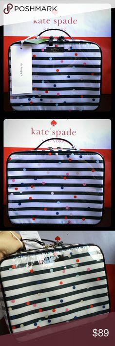 34d50aa981 Kate Spade Martie Brook Place Confetti Dot Bag NWT Kate Spade Martie Brook  Place Confetti Dot