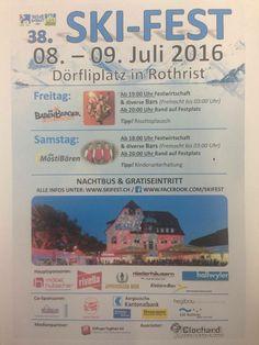 Die Babenberger - Partyband. Live am Skifest in Rothrist / Schweiz www.diebabenberger.at Flyer, Band, Party, Bullet Journal, Live, Switzerland, Sash, Parties, Bands
