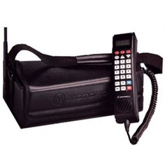 bag phone! my mom had one of these in the 90s