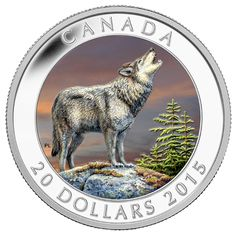 Coins for sale including Royal Canadian Mint products, Canadian, Polish, American, and world coins and banknotes. Canadian Coins, Canadian History, Native Canadian, Bullion Coins, Silver Bullion, Wolf Colors, O Canada, Canada Post, Coin Worth