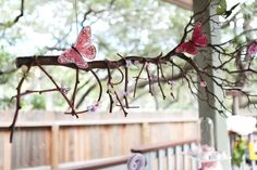 Magical Woodland Butterfly Birthday Party Ideas | Photo 3 of 17 | Catch My Party