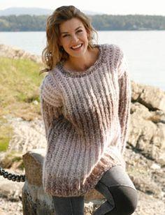 I patentstrik - superfed sweater