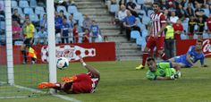 Diego. Costa: Goal, and big hit against the wood. Getafe 2014.04.13