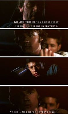 No sir, not before everything ~ Sam Winchester #Sam #Dean || John Winchester #Supernatural 1x22 Devil's trap