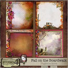 Fall on the Boardwalk - Pagestackers